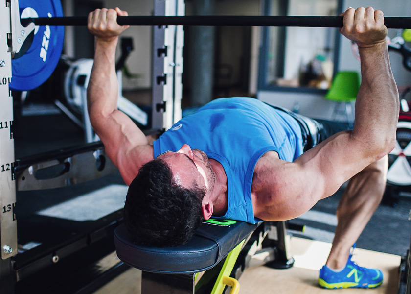 PRESERVE MOMENTUM WHILE WORKOUT
